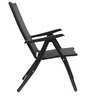 Jet Folding Chair in Black Colour by HomeTown