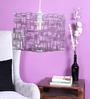 JILDA Gray Lab Plexi Glass & Wire Rint Pendant Lamp