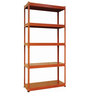 Jin Display Unit in Orange Finish by Mintwud
