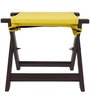 Jinjer Contemporary Foldable Stool in Yellow Colour by ARRA