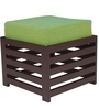 Jinjer Contemporary High Rise Stool in Fluorescent Green Colour by ARRA