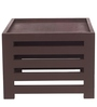Jinjer Contemporary High Rise Stool in Light Brown Colour by ARRA