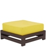 Jinjer Contemporary Low Stool in Lemon Yellow Colour by ARRA