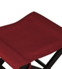 Jinjer Foldable Red Stool by ARRA