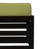 Jinjer High Rise Slatted Stool - Green by ARRA