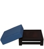 Jinjer Low Height Distinguished Blue Stool by ARRA