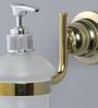 JJ Sanitaryware 2010 Golden Brass Soap Dispenser