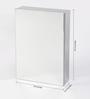 JJ Sanitaryware Lamar Stainless Steel Bathroom Mirror Cabinet