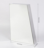 JJ Sanitaryware Lea Stainless Steel Bathroom Mirror Cabinet