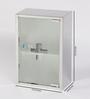 JJ Sanitaryware Lennox Stainless Steel Bathroom Mirror Cabinet