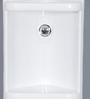 JJ Sanitaryware White Plastic Bathroom Cabinet