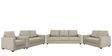 Jordana Three Seater Sofa in Beige Colour by CasaCraft