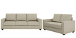 Jordana Two Seater Sofa in Beige Colour by CasaCraft