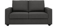 Jordana Two Seater Sofa in Royal Grey Colour by CasaCraft