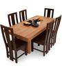 Jordan-Capra Six Seater Dining Set in Dual Tone by The ArmChair