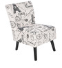 Joy Occassional Chair in Black Colour by @home