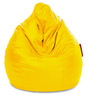 Jumbo SAC Bean Bag (Cover Only) Yellow Color Colour  by Style Homez