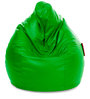 Jumbo SAC Bean Bag Parrot Green Color Colour with Beans by Style Homez