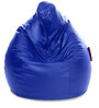 Jumbo SAC Bean Bag Royal Blue Color Colour with Beans by Style Homez