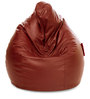 Jumbo SAC Bean Bag Tan Color Colour with Beans by Style Homez