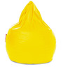 Jumbo SAC Bean Bag Yellow Color Colour with Beans by Style Homez