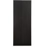 Jupiter Two Door Wardrobe in Black Colour by Royal Oak