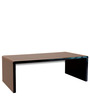 Jura Coffee Table in Black Colour by Forzza