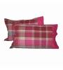 Just Linen Multicolour Cotton 18 x 27 Pillow Cover - Set of 2