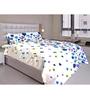 Just Linen Multicolour Cotton Queen Size Bedding Set - Set of 4