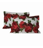 Just Linen Multicolour Micro Polyester 18 x 27 Pillow Cover - Set of 2