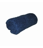Just Linen Navy Cotton 12 x 24 Bath Towel