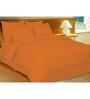 Just Linen Peach Fabric Queen Size Comforter