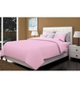 Just Linen Pink Cotton Queen Size Fitted Bedsheet - Set of 3