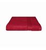 Just Linen Red Cotton 30 x 60 Bath Towel