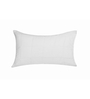 Just Linen White Cotton 19 x 29 Pillow Cover
