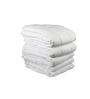 Just Linen White Cotton Single Size Duvet Cover - Set of 5