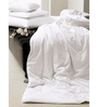 Just Linen White Fabric Queen Size Duvet Cover