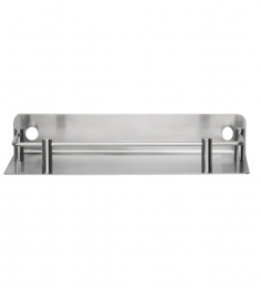 Jwell Silver Stainless Steel Bathroom Shelf