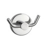 Jwell Star Silver Stainless Steel 3.14 x 1.9 x 1.9 Inch Clothes Hook