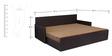 Kaiden Slider Sofa cum Bed in Brown Colour by Auspicious