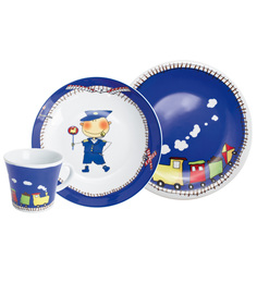Kahla 3 Piece Adventure Express With Magic Grip Crockery Set