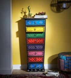 Raaga - Painted Chest Of Drawers by Mudramark