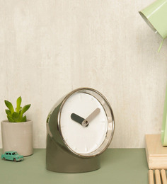Karlsson Silver Metal Periscope Table Clock