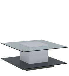 Kathy Coffee Table in Black Colour by Evok