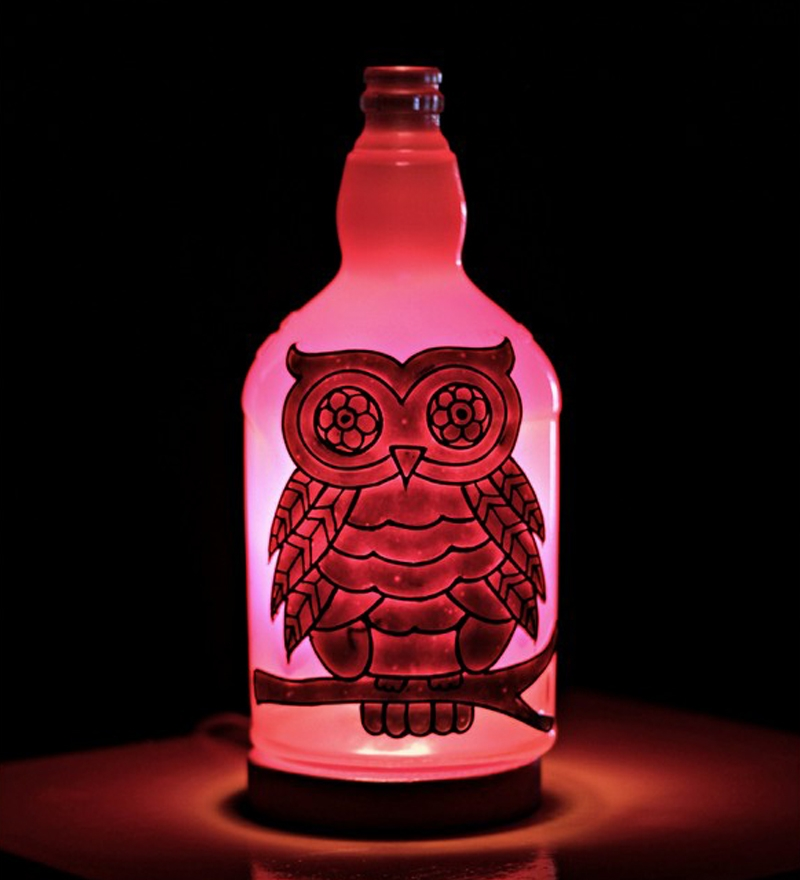 Kavis White Owl Night Cum Table Lamp By Kavi Online
