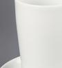 Kahla Touch Black & White Porcelain 350 ML Five Senses  macchiato Cup & Saucer