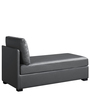 Kalbert Lounger Sofa in Black Colour by Madesos