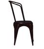 Ekati Metal Chair in Brown Colour by Bohemiana