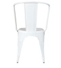 Ekati Metal Chair in White Color by Bohemiana