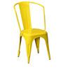 Ekati Metal Chair in Yellow Color by Bohemiana